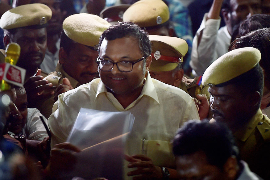 Lookout Notice Against Karti as He Was Closing His Foreign Bank Accounts: CBI