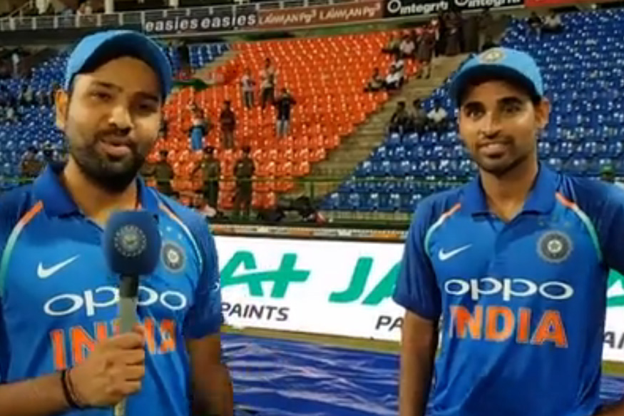 Rohit Sharma Credits Bowlers for Win in Third T20I in Cape