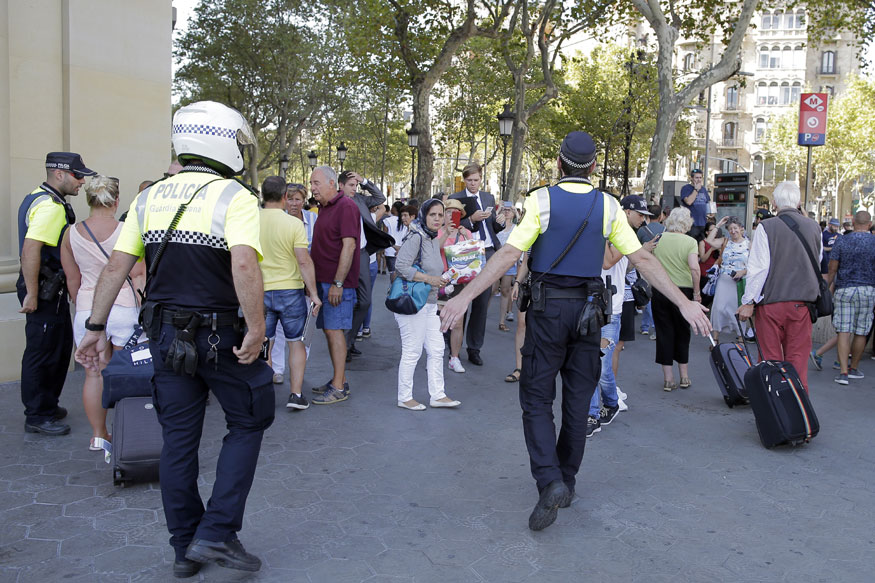 Barcelona Attack: Van Plows into Crowd, Spanish Reports Say 13 Dead