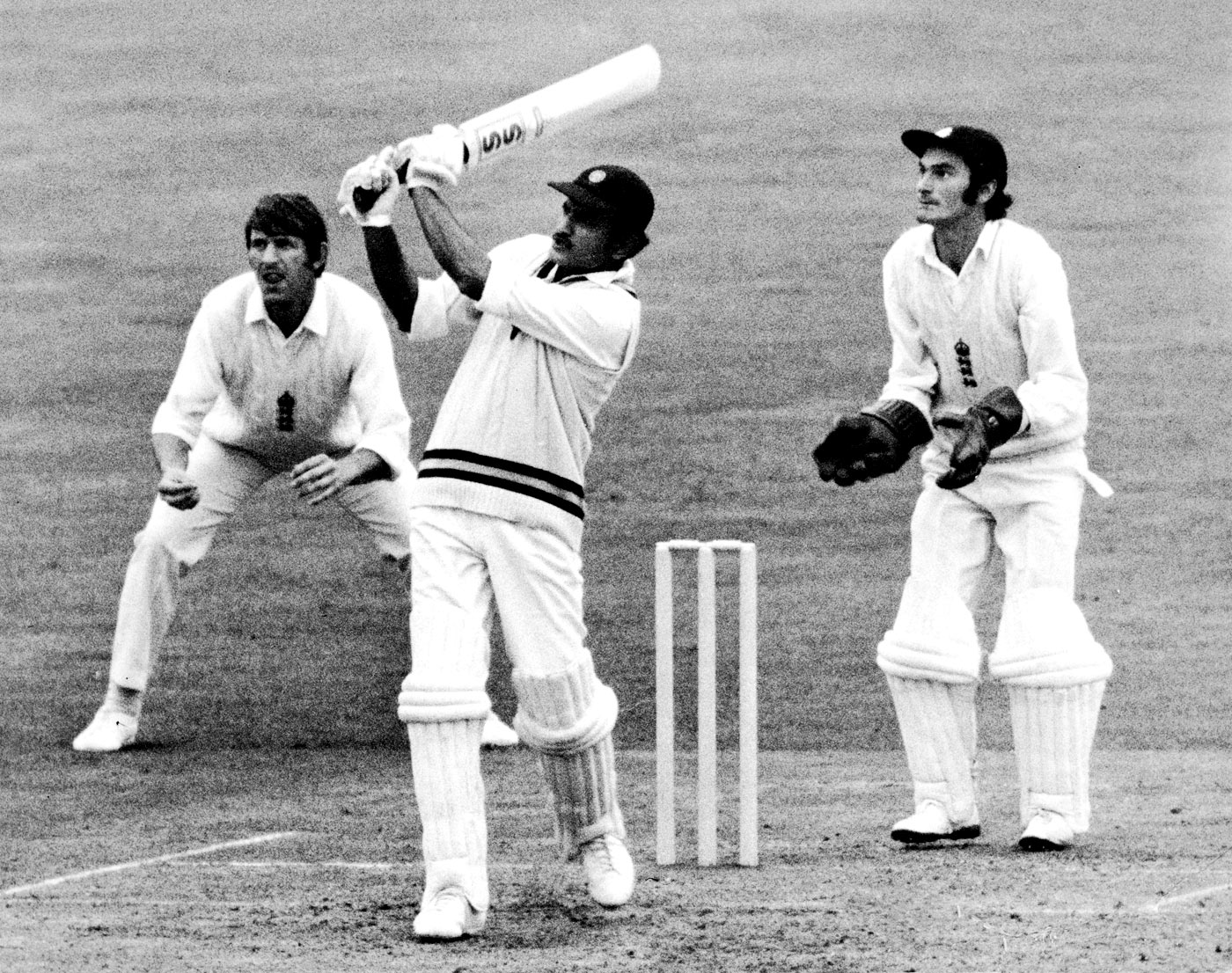 File image of Ajit Wadekar playing a shot during the tour of England in 1971. (Getty Images)