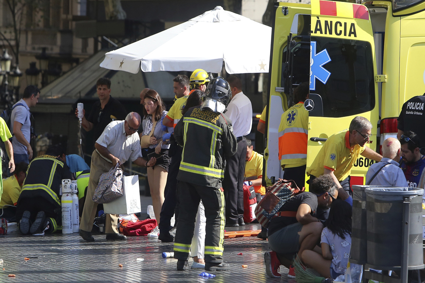 Barcelona Attack: 13 Reported Dead as Van Plows into Crowd at Las Ramblas, 1 Held