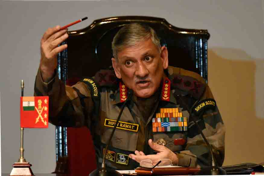 In the Wake of Border Brawl Video, Army Chief Rawat Lands in Leh