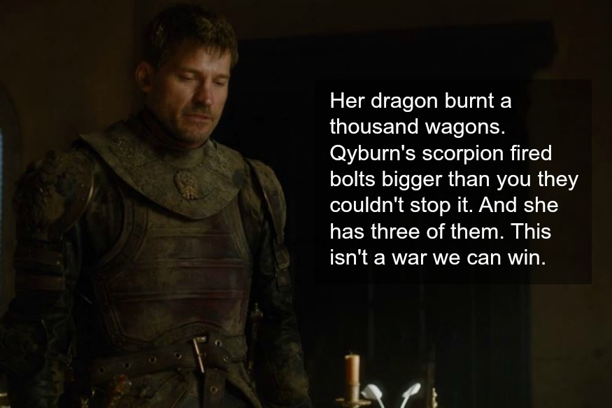 Fire Tweets About Jon Snow's Moment With A Freakin' Dragon