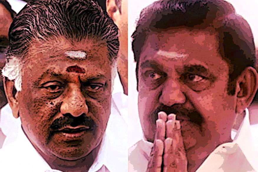 AIADMK Live: EPS and OPS Head to Party HQ, Sasikala May be Expelled