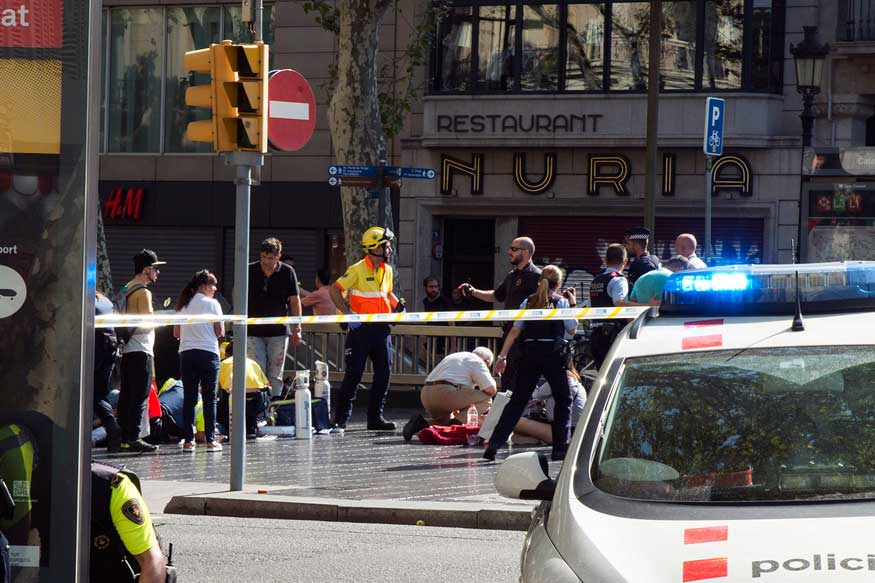 Islamic State claims Its 'Soldiers' Carried Out Barcelona Attack That Killed 13