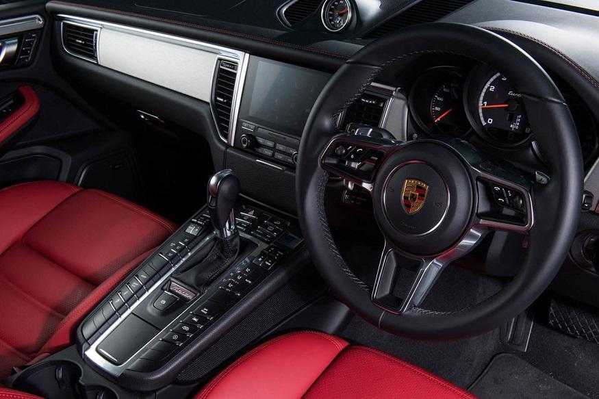 Porsche Macan Turbo with livery paint. (Image: Porsche)