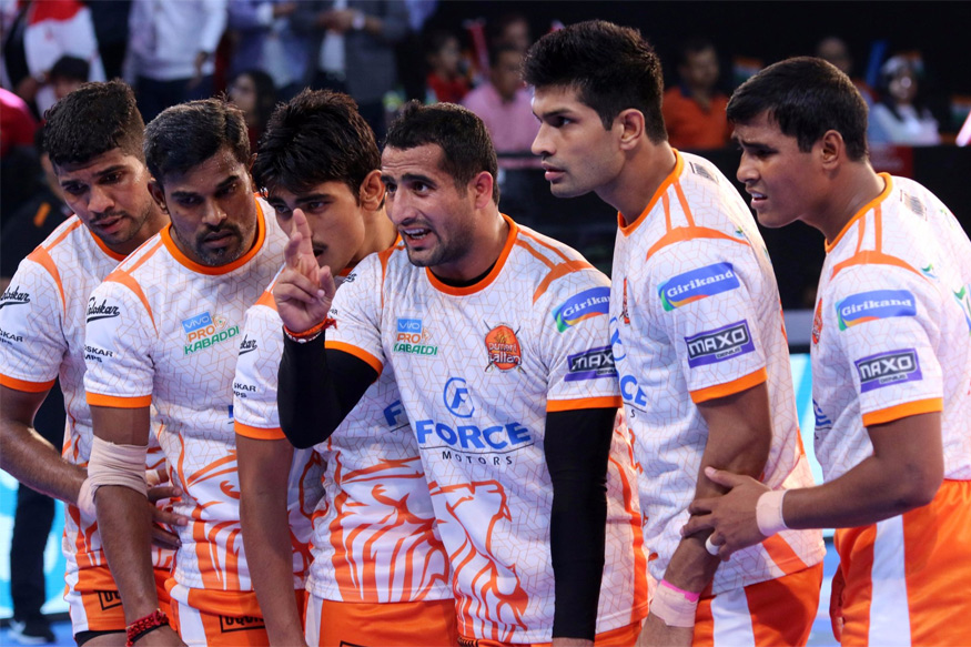 Pro Kabaddi 2017: Gujarat Fortunegiants Edge Puneri Paltan 23-22