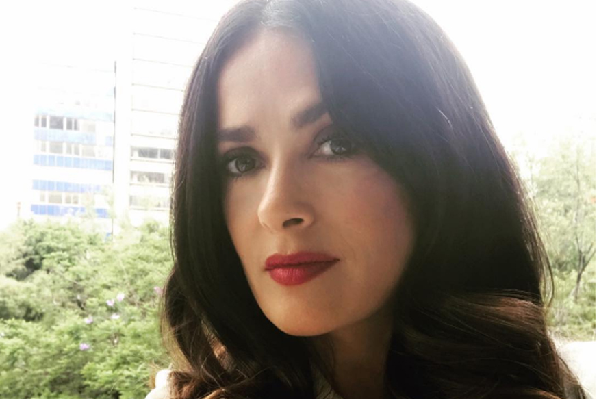 Salma Hayek Pinault Leads the Kering Fashion Stars Raising Awareness of Violence Against Women