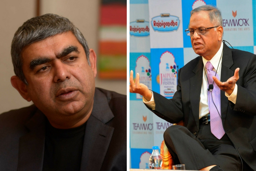 The Infosys Saga: When Narayana Murthy & Vishal Sikka Locked Horns