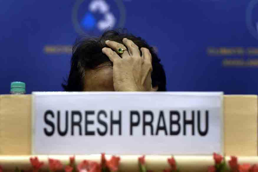Suresh Prabhu Offers to Quit Over Train Derailments, PM Asks Him to Wait