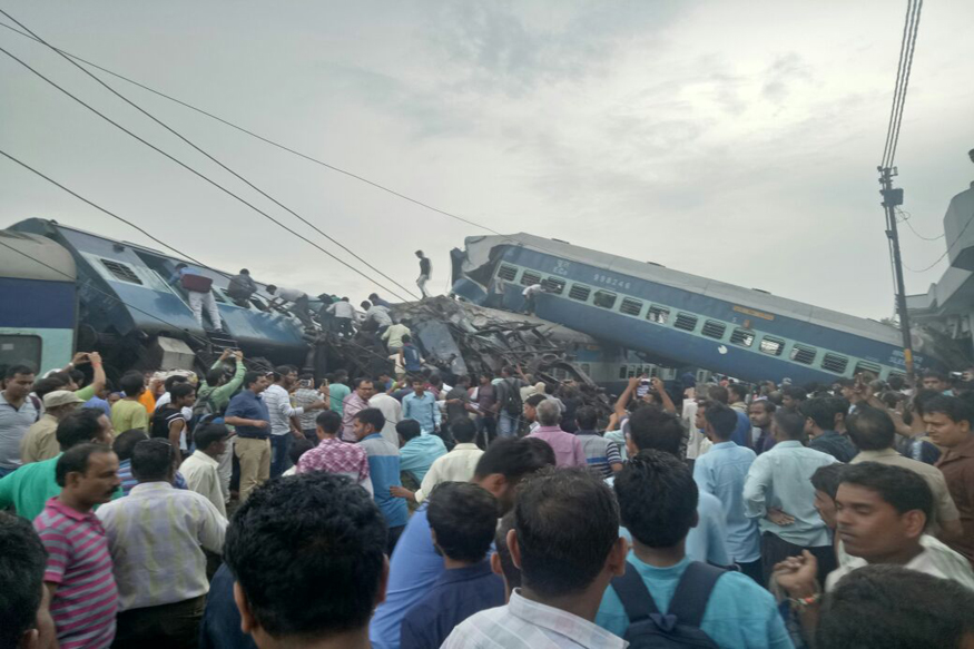 Utkal Express Live: At Least 23 Dead, 50 Injured as Train Derails in Muzaffarnagar