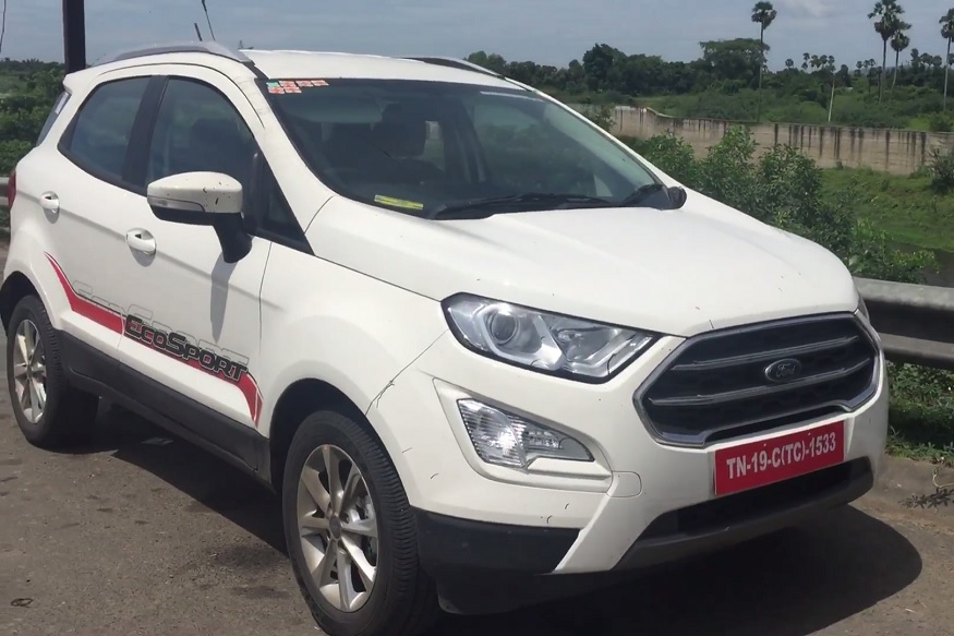 2018 Ford EcoSport Facelift Walkaround Video