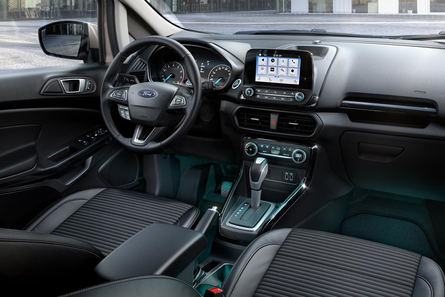 2018 Ford Ecosport Interiors. (Image: Ford)