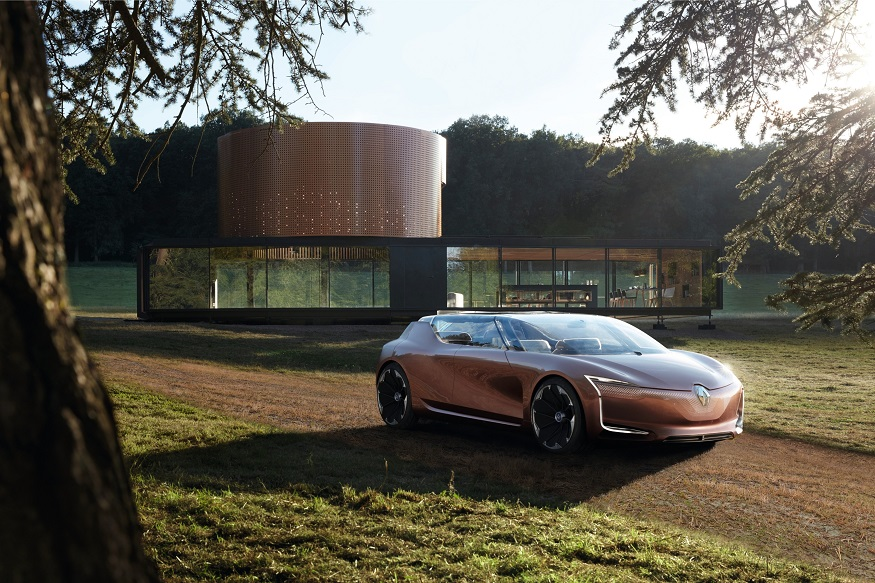 Renault revealed Symbioz at the 67th edition of the Frankfurt Motor Show. (Image: Renault)