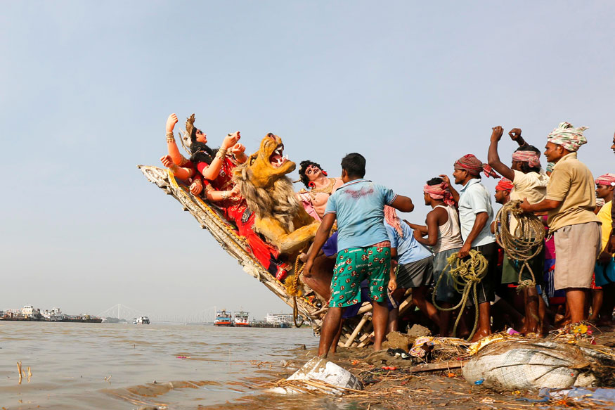 Idol Immersion in Bengal to Take Place on All Days, Muharram Included: Calcutta HC