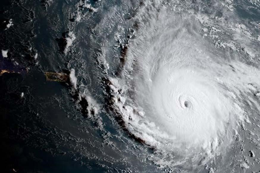 NOAA National Weather Service National Hurricane Center image of Hurricane Irma