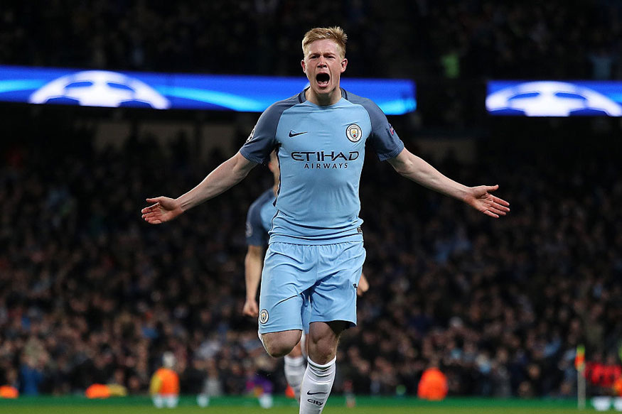 Kevin de Bruyne Dazzles as Man City Sink Leicester to Equal Best Start to Campaign