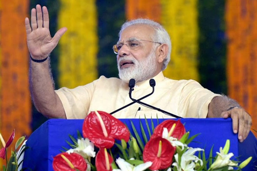 Narendra Modi in Gujarat LIVE: PM Inaugurates Rs 615 Crore 'Ro-Ro' Ferry Service in Poll-bound State
