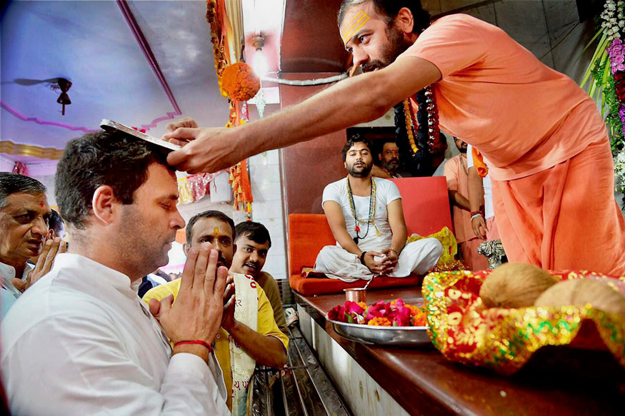 Taking Lessons From 2014 Loss, Congress Looking at a 'Soft Hindutva' Approach