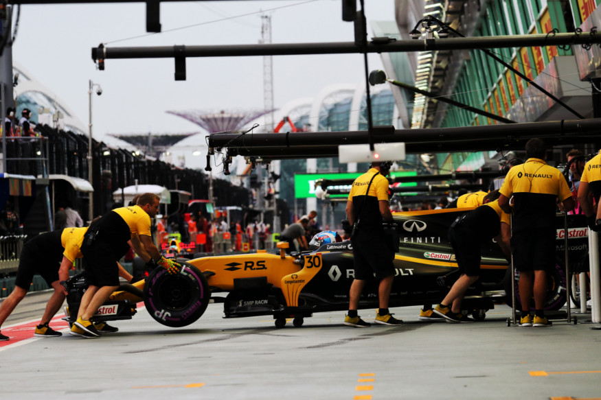 Singapore Grand Prix Formula 1 pitt