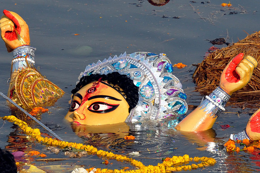 Bengal Puja Organisers Need NoC From Police for Idol Immersion on Muharram
