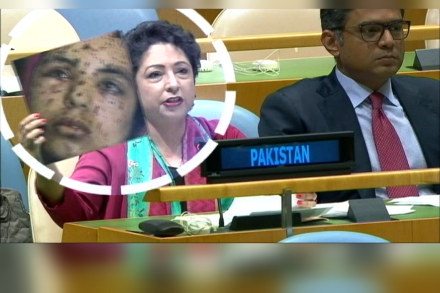 Pakistan Caught Lying at UN, Tries to Pass Off Gaza Woman as 'Kashmiri Victim'