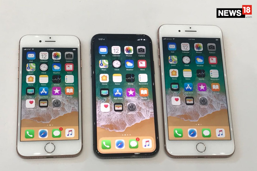 Apple iPhone 8, iPhone 8 Plus, iPhone X First Look Video