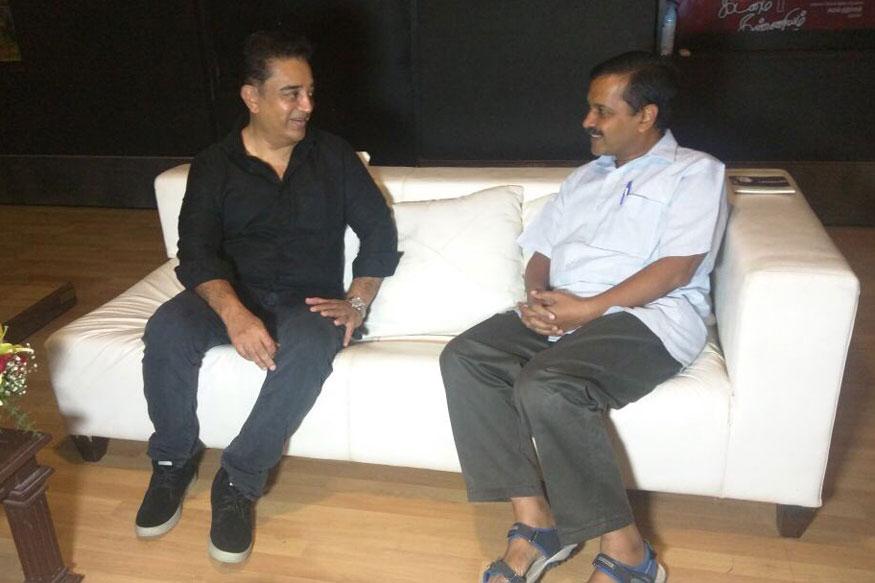 Kamal Haasan, Arvind Kejriwal Stir Political Pot After Hour-Long Lunch