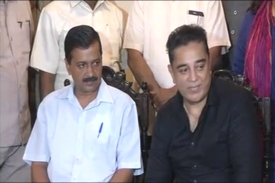 Kamal-Kejriwal LIVE: We'll Continue to Meet, Says Duo After 1-Hour Lunch