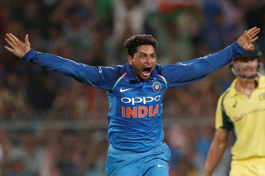 India vs Australia, 2nd ODI at Kolkata: Kuldeep Hat-trick Headlines Hosts' 50-run Win