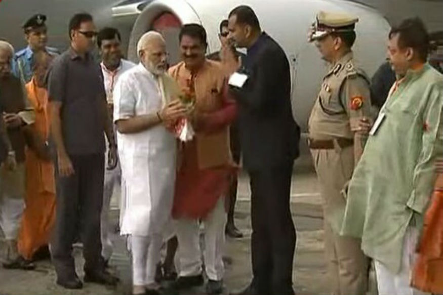 Modi in Varanasi LIVE: PM Arrives in His Constituency, First Visit After UP Win