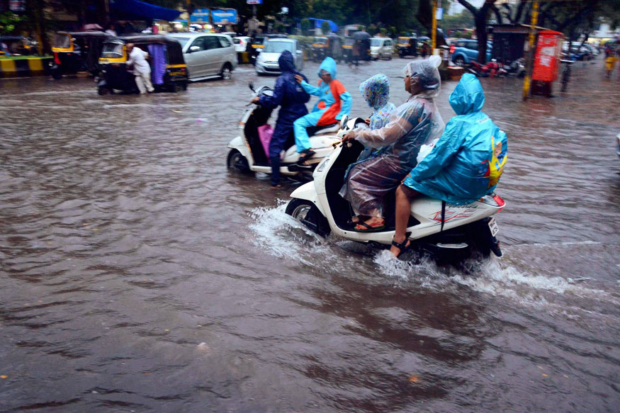 Mumbai Rains LIVE: 56 Flights Diverted, Train Services Affected