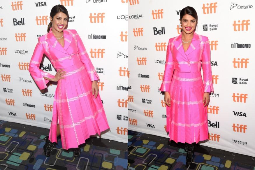 (Photo: Actress Priyanka Chopra at Toronto International Film Festival/Getty Images)