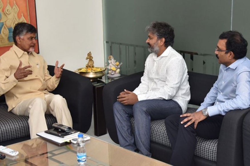 Naidu 'asks' Baahubali Director to Design Capital; Where's the Money, Asks Oppn