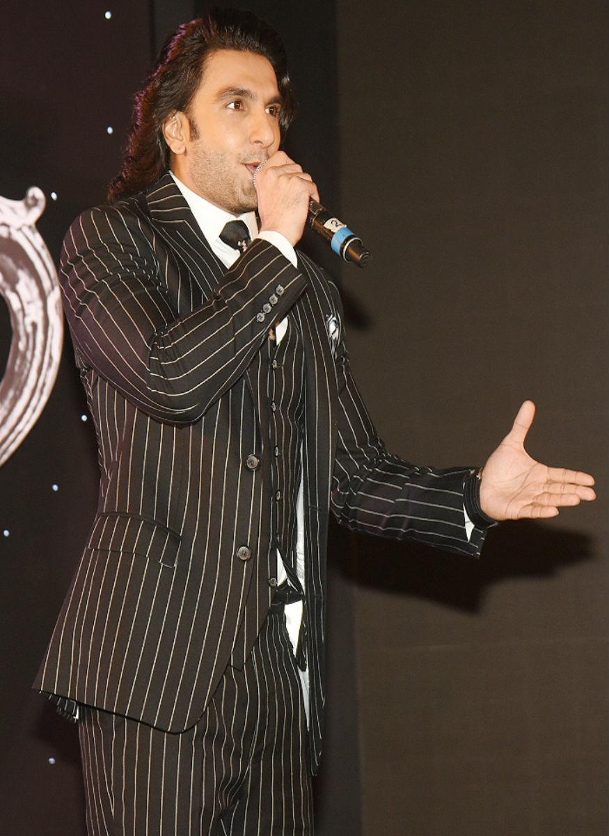 (Photo: Ranveer Singh at an event in Mumbai/ Yogen Shah)
