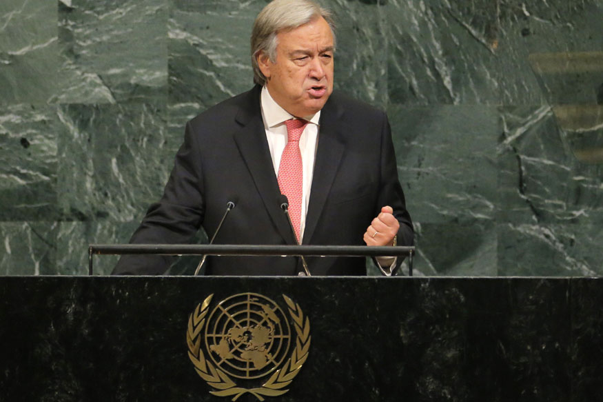 UN Chief Says Statesmanship Needed on North Korea, Takes Digs at Donald Trump