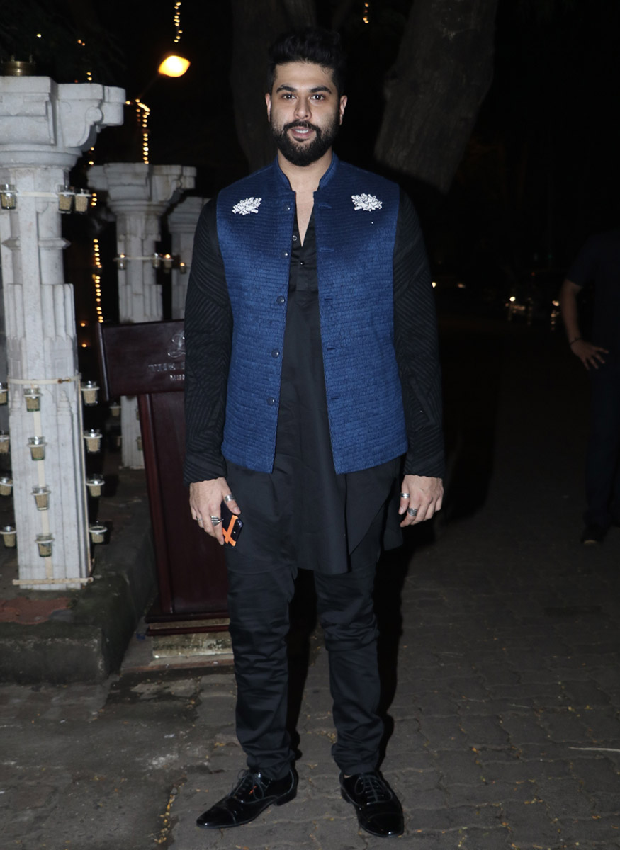 Kunal Rawal poses for a photo during Anil Kapoor's Diwali party hosted at his residence in Mumbai on October 19, 2017. (Image: Yogen Shah)