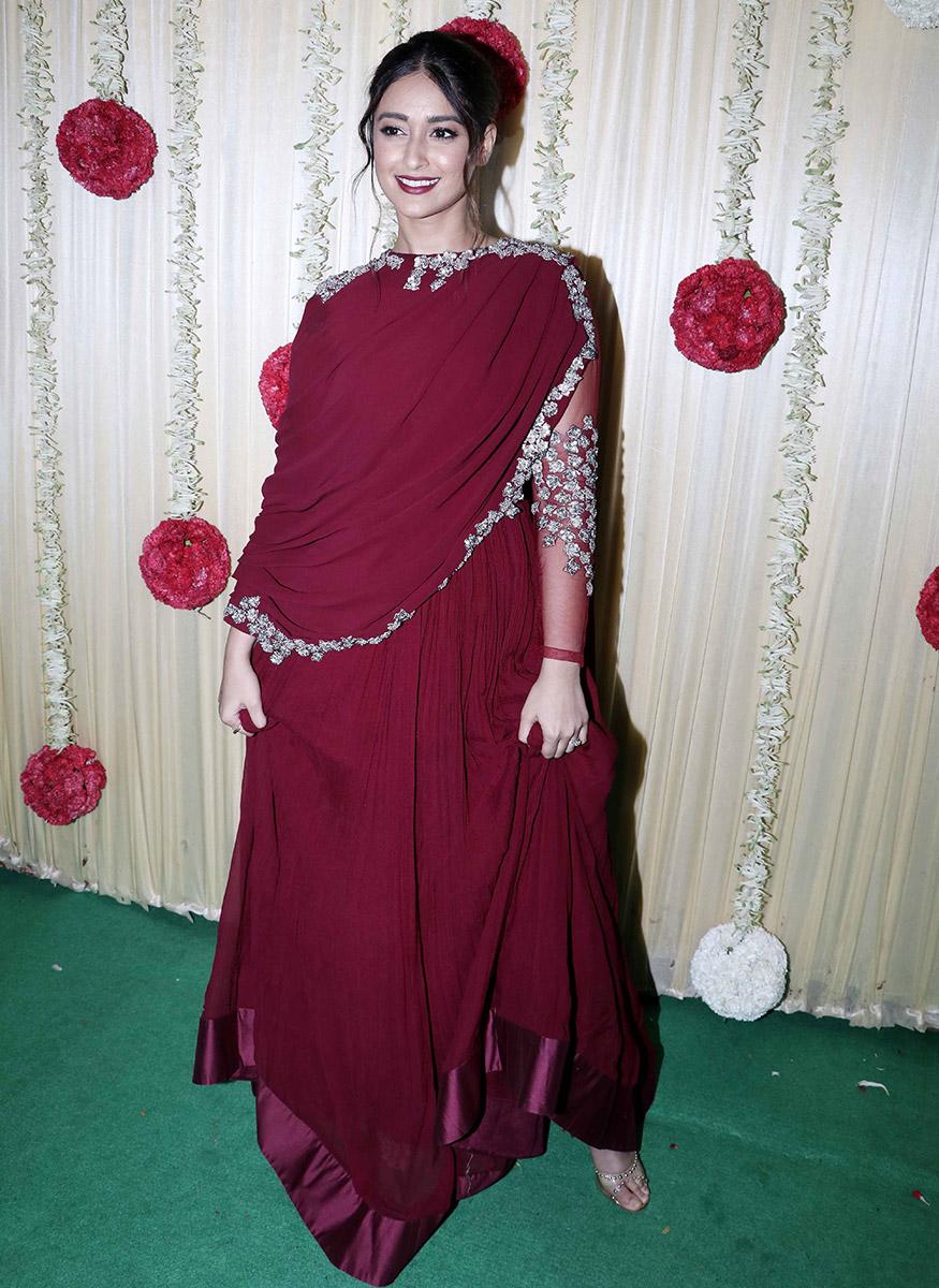 Ileana D'Cruz during Ekta Kapoor's Diwali party hosted at her residence in Mumbai on October 17, 2017. (Image: Yogen Shah)