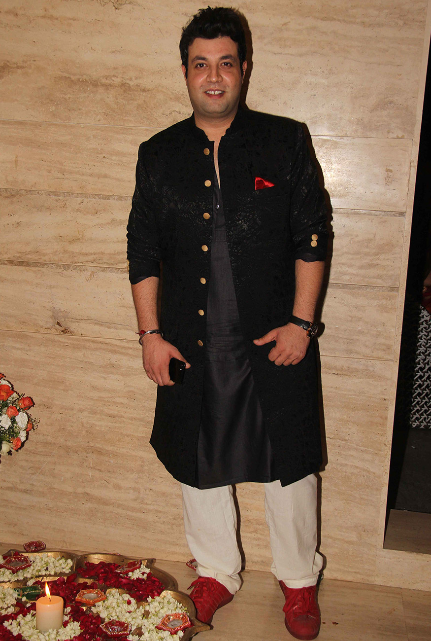 Varun Sharma at Ekta Kapoor's Diwali party hosted at her residence in Mumbai on October 17, 2017. (Image: Yogen Shah)