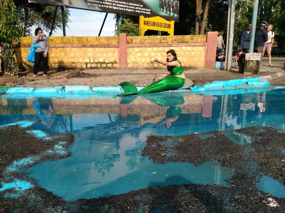 mermaid pothole