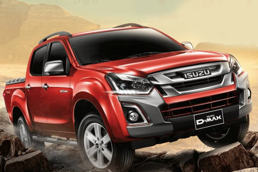 Isuzu D-Max V-Cross Limited Edition. (PHoto Courtesy: Indian Autos Blog)