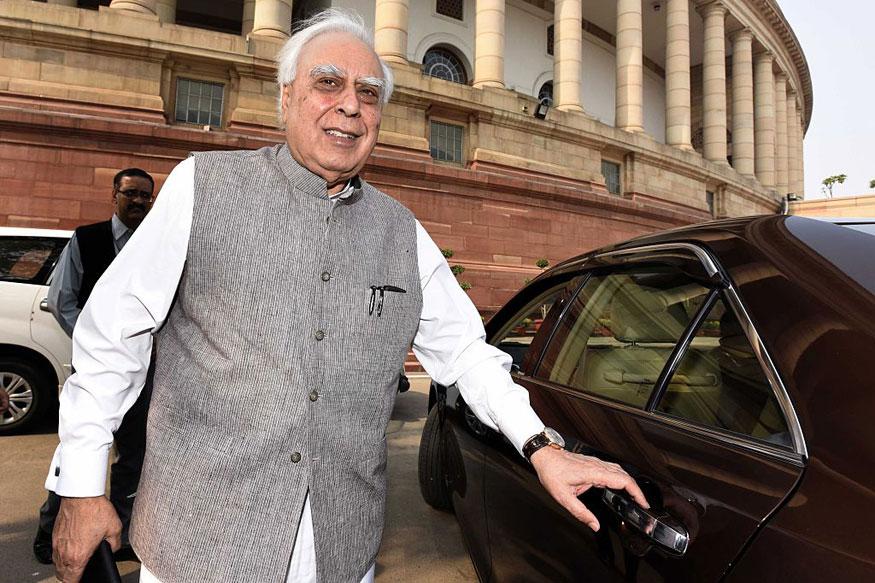 Sibal Attacks Modi Over Guj Poll Dates Says PM-EC 'Jugalbandi' Out in Open