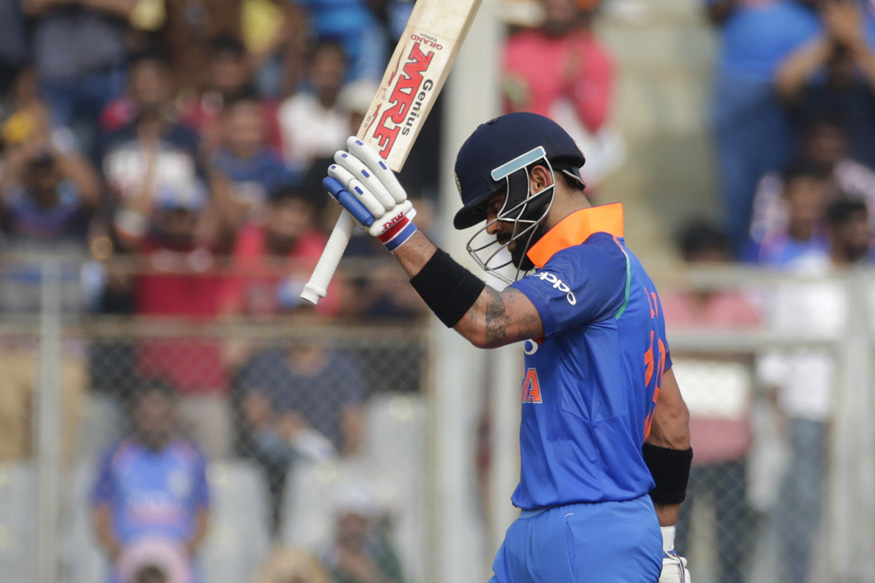 India vs New Zealand, Live Cricket Score, 1st ODI, Mumbai: Kohli Motoring Towards Century
