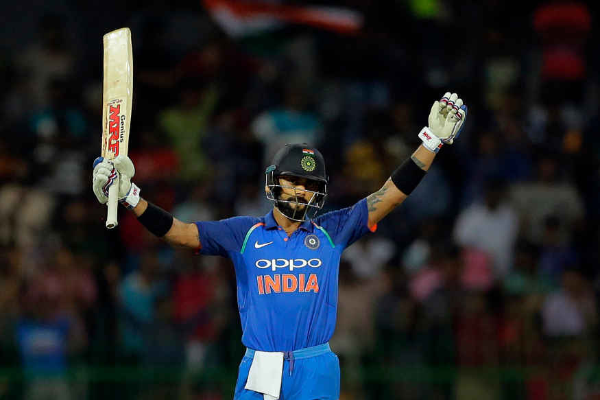 India vs New Zealand, Live Cricket Score, 1st ODI, Mumbai: Virat Kohli Slams Record Ton to Power India to 280