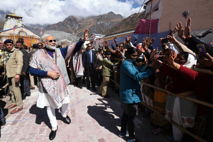 Congress Takes Dig at PM for Sporting 'Italian Glasses' on Kedarnath Visit