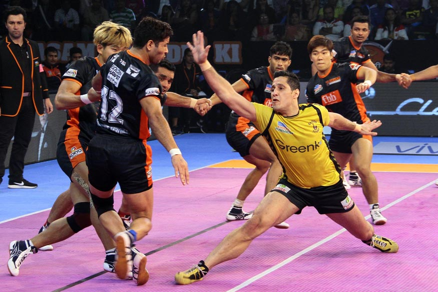 Pro Kabaddi 2017: Telugu Titans Hold Bengal Warriors to a Tie