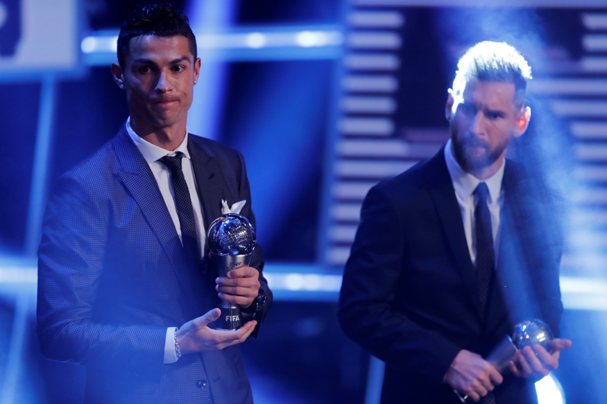 Ronaldo Beats Messi to Win FIFA World Footballer of the Year Award
