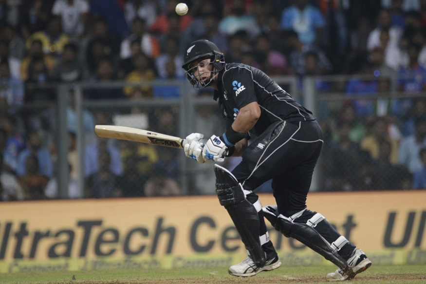 India vs New Zealand, Live Cricket Score, 1st ODI, Mumbai: Taylor, Latham Take Kiwis Closer to Target