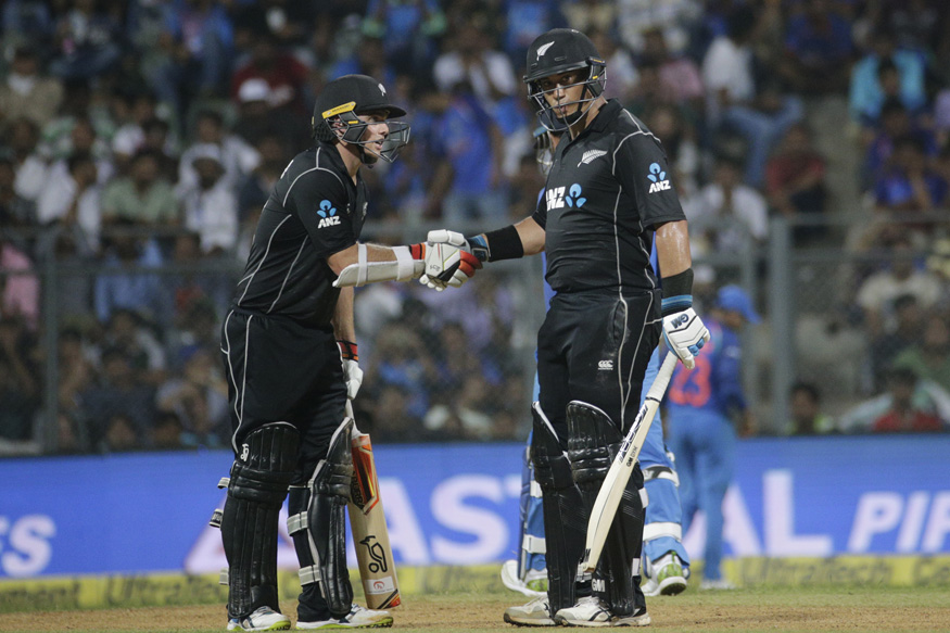 India vs New Zealand, Live Cricket Score, 1st ODI, Mumbai: Latham Slams Ton as Kiwis Almost There