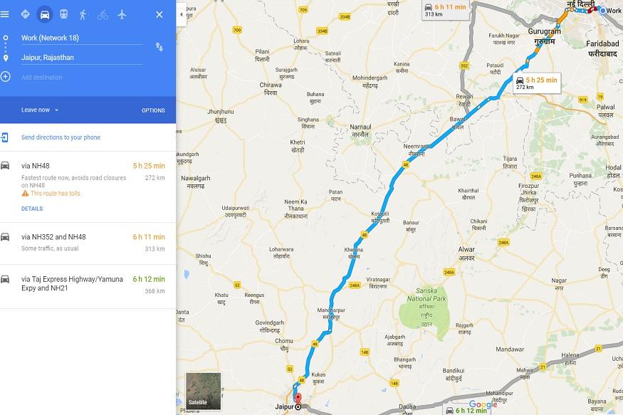 Delhi-Jaipur Weekend Getaway
